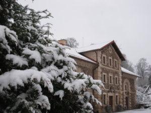 Buvęs malūnas dabar Informacinis centras