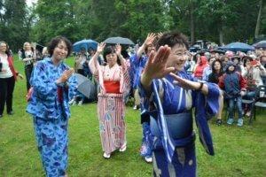 Japoniškų būgnų koncertas