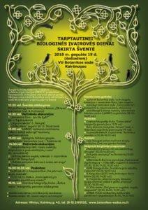 Biologinės įvairovės dienos šventė